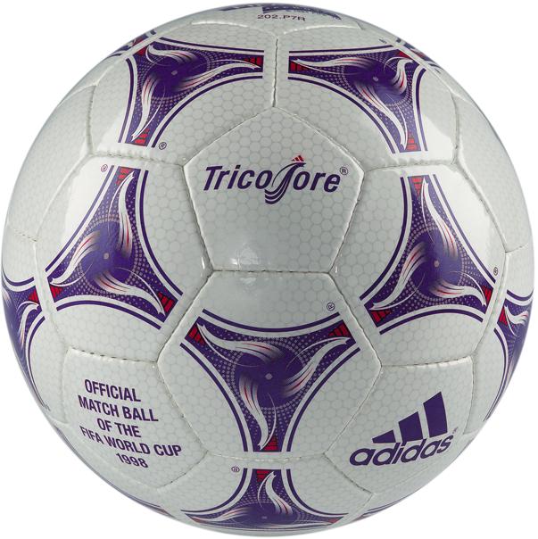 Oficjalna piłka na Mistrzostwa Świata w 1998 roku we Francji.