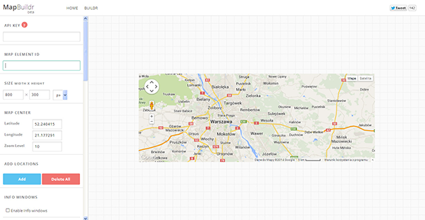 GoogleMapBuilder