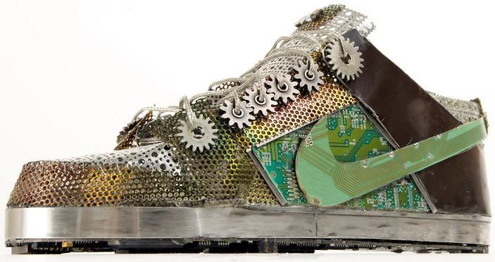 buty nike z płyty glównej